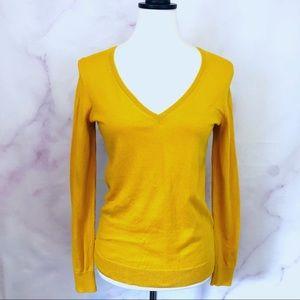 J.Crew Factory Cotton V Neck Sweater